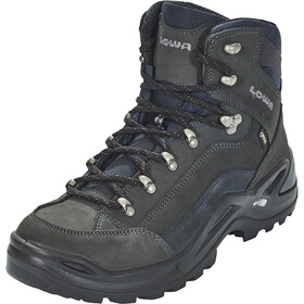 Lowa Renegade GTX Mid Boots Men dark grey/navy